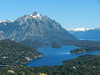 San Carlos de Bariloche : I had a good time in Bariloche, where stunning views are available from Cerro Campanario. I resisted the chocolates available all over town, and noted the German influenced architecture. See also: http://mytimetotravel.wordpress.com/2012/12/04/a-most-beautiful-view/