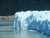 El Calafate: Perito Moreno : From Buenos Aires I flew to El Calafate in Patagonia. Next day I took a tour to visit the Perito Merino glacier, first by boat, and then on land.