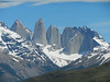 Torres del Paine, Chile : I spent a full day on a bus trip of Torres del Paine. I wasn't up for a multi-day hike, and I thought the in-park lodges way too expensive. Although I'm not a fan of bus tours this one worked out well - I had the front seat on the bus, the guide was good, and we had beautiful weather. I was booked on the tour by my hotel in Puerto Natales, the Hallef.