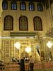 Inside the prayer hall
