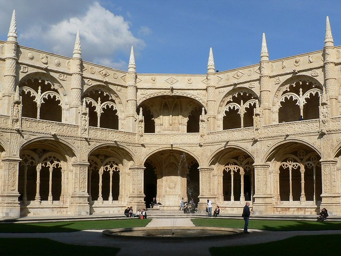 The cloister,Mosterio dos Jeronimos